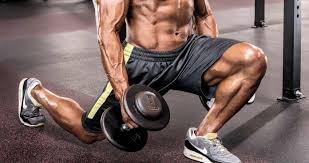 build shredded legs with this dumbbell