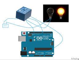 relay switch allan electronics arduino tutorial circuit connection
