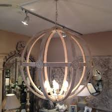 round wood chandelier chandelier extra largehandeliers photo orb and rustic on handeliertra for extra modern simple