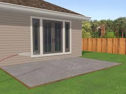 patio steps pea size x: lay a brick patio lay a brick patio step