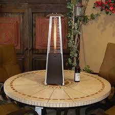 sunmaster bonfire tabletop glass propane patio heater bronze woodlanddirect com propane patio heaters