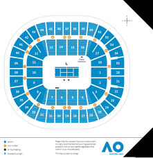 United kingdom, taunton, 22 st. Map Seating Levels Official Map Australian Open Seating Map Rod Laver Arena Rod Laver Arena Is The Main Center Court At The Australian Open And Where All The Featured Matches For The Singles Semis And Finals Are Also Played The Stadium Holds 14 570