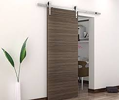 BD-FSS # Satin Nickel Brushed Stainless Steel Sus304 Modern Barn Wood  Sliding Door Hardware