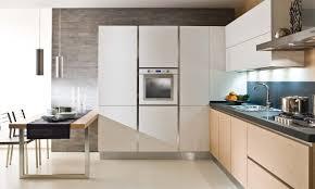 Cucina maniglia scomparsa cucina su misura. il tavolo a scomparsa