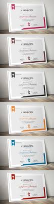 17 best ideas about certificate templates gift modern ms word certificate template
