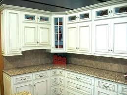 kitchen cabinets glaze painted cabinet ivory pinstripe antique chalk paint