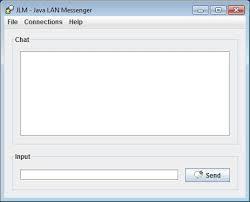 java lan messenger net main window v01