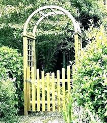 garden arch trellis home depot arches for