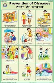Prevention Of Diseases For Health Hygiene Chart
