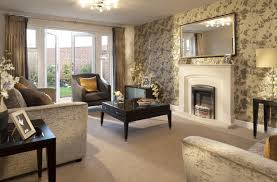 Interior Designed Living Room Using A Neutral Colour Scheme Of Mink Living Room Decor
