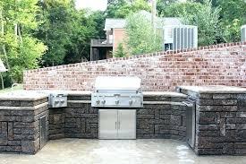 stone outdoor kitchen kitchens tampa kennedy outdoor kitchen canopy fl tampa design