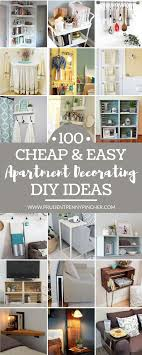 apartment diy decorating. Beautiful Decorating 100 Cheap And Easy DIY Apartment Decorating Ideas Throughout Diy Pinterest
