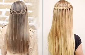 Hairstyle Yourself gorgeous waterfall braid hairstyle you can make by yourself 8201 by stevesalt.us