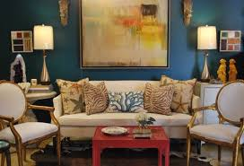 You could also be really bold - look at how inviting this is and all the accent  colors that work with it here.