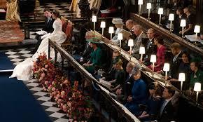 Royal Wedding Seating Chart 2018 There Was An Empty Seat At Princess Eugenies Royal Wedding