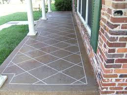 stained concrete patio gray. Tile Pattern Front Porch Stained Concrete Patio Gray
