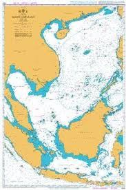 Ukho Ba Chart 4508 Pacific Ocean South China Sea