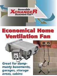 basement ventilation system. XchangeR Basement Fan Ventilation System