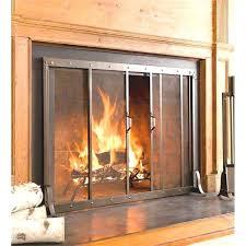 modern fireplace doors modern glass fireplace screens fresh modern glass fireplace door modern fireplace glass doors