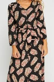Patterned Button Up Shirts Enchanting Owl Printed Button Up Shirt Dress Just £48