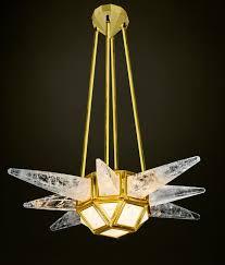 rock crystal chandeliers alexandre