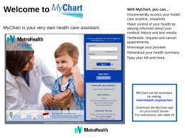 Your Guide Table Of Contents Welcome To Mychart 3 How To