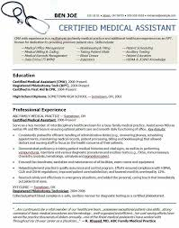 Professional Medical Resume Inspiration Sample Resume For Medical Assistant Elegant Professional Resume