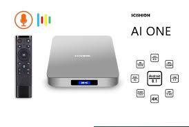 SCISHION AI ONE RK3328 Android 8.1 4GB/32GB TV Box