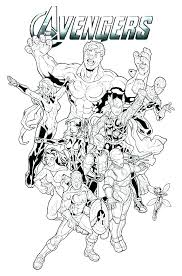 Free Printable Avengers Coloring Pages Metabolismdietinfo