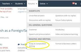 essay about advantages and disadvantages pull down the forums menu in the black ribbon at the top of the page