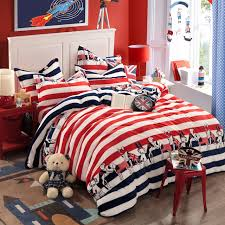 bed sheets striped oxford stripe sheets american flag motif for kids 1
