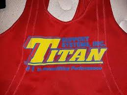 Titan Centurion Nxg Squat Suit Size 34 Red Lightly Used