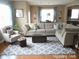 Target Living Room Rugs I Like This Living Room With The Cream Couches Dream Home