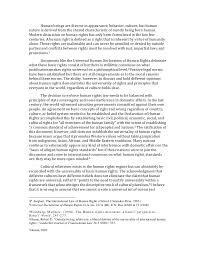 soraya ghebleh essay on human rights and cultural relativism