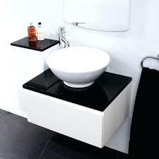 white gloss bathroom vanity unit minimalist minimalist vanity
