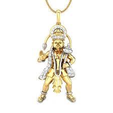 jai bajrang bali diamond pendant