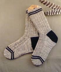 Mens Sock Knitting Pattern