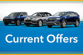 cur lease apr offers on new honda