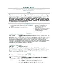 Teacher Curriculum Template Resume Format For Teaching Bitacorita