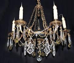 chain link chandelier larger image