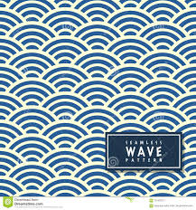 Ocean Wave Pattern Cool Decoration