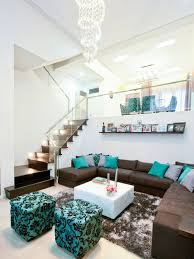 Example of a trendy formal living room design in Other with white walls