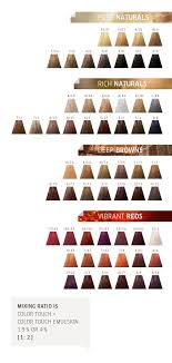 Wella Color Touch Chart Discover Colour Touch By Wella Natural Hair Color Chart