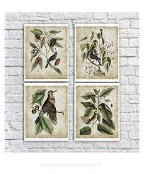 wall art prints bird gift