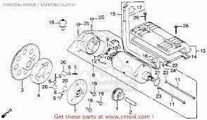 honda cb900c 900 custom 1981 (b) usa starting motor starting Cb900 Wiring Diagram starting motor starting clutch schematic cb900 wiring diagram