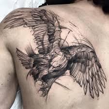 тату эскизы орел