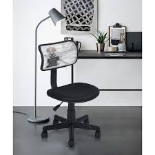 computer chair without wheels. Modren Without Aingoo Breathable Office Computer Chair Without Arms With Fabric Pads  Height Adjustable 360 Degree Rotating Wheel To Without Wheels W
