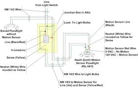 how to wire two floodlights to an in linelinc relay how to wire a junction box for a light at Lighting Wiring Diagram Junction Box