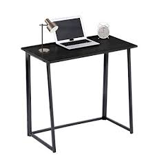 Office study desk Butcher Block Image Unavailable Amazoncom Amazoncom Greenforest Folding Computer Desk Small Splaces Home