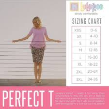 S Club 6 Lularoe Review Perfect Tee